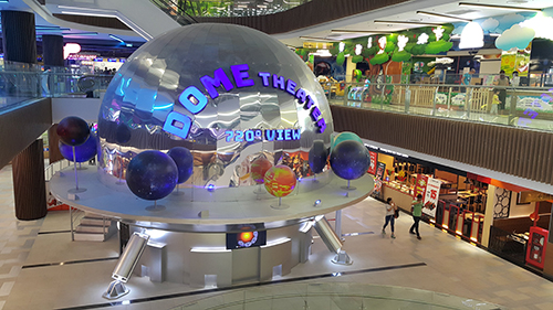 Dome theater 720 view at Gigamall Shopping Center